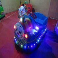 郑州旺福游乐现货热销儿童碰碰车托马斯电瓶车双方向盘儿童托马斯火车头