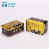 牛骨髓铁盒定做 方形三七粉金属铁盒 陈皮粉马口铁定制厂家