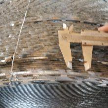 丹东刀片刺丝滚笼厂家批发&热镀锌刀片刺绳规格参数详解