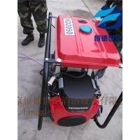 恒德轮式移动正规高压疏通机生产厂家 用于污水管道疏通 大流量高压水疏通机