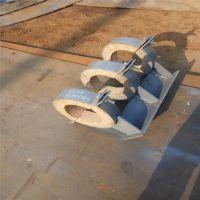 蛭石隔热管托厂家,镁钢管托,齐鑫生产