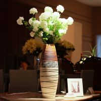 欧式景德镇陶瓷落地大花瓶 酒店客厅大摆件 家居饰品插花专用花瓶批发