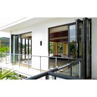 永锢安全门窗 2.0厚度75断桥铝合金重型隔音大折叠门