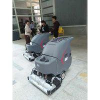 广州诺曼科全自动手推式洗地机GM85BT