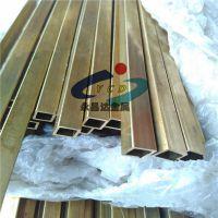 薄壁黄铜方管,H62黄铜小方管,10*10*0.5黄铜方管