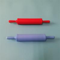 开模定做食品级硅胶厨具 硅胶擀面杖 不沾硅胶压面棍