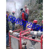 恒旺供应山西孔径75物探地震波分体框架山地钻机 HW30型三维地质勘探30米深度钻机