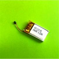 东莞鸿伟能源401120聚合物锂电池60mAh3.7V蓝牙耳机锂电池生产厂家A品定制电池