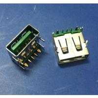 OPPO大电流/USB 3.0母座5A快充/闪充5P四脚插板绿色