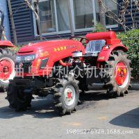 东方红504土地耕整犁翻旋耕机拖拉机 农用四轮拖拉机价格