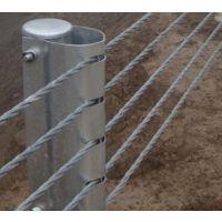 湘西缆索护栏厂家、钢丝绳护栏、6索防撞栏