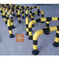 中石油加油站 弧形防撞柱防护栏114型 广源