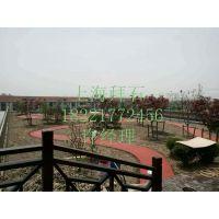 上海拜石厂家供应无锡彩色透水地坪材料 海绵城市