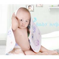 幼儿童通用纯棉纱布浴巾 A类产品不含荧光剂 柔软吸水呵护肌肤