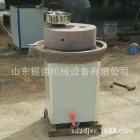 电动石磨米浆机 芝麻酱香油石磨机  石盘式电动豆浆石磨 振德供应