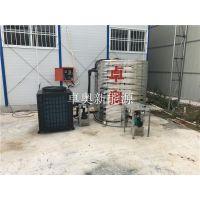 江苏卓奥为安徽马鞍山工地安装5匹奥栋空气能热水器