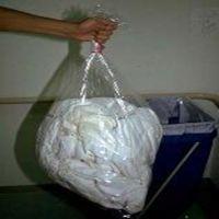 医院传染病房用全水溶PVA防感染洗衣袋