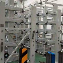 南宁重载仓储架 可调伸缩式管材货架厂家 钢材存储 新型悬臂式货架