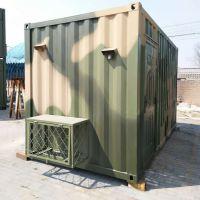 野营房是野外施工专用 标准油田营房生产 集装箱营房设计定制