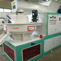 供应铼申420型生物质颗粒机 秸秆制粒生产设备高产量低耗能