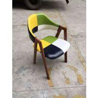 西餐厅五金餐椅 酒店高档椅子 稳固耐用 时尚美观