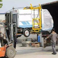 新款保洁电动小型垃圾车 金尔惠牌新型环卫车 自动卸料电动三轮环卫车