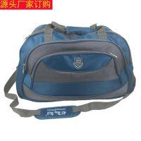 牛津布旅行袋大容量旅行包手提行李袋社行社订制LOGO源头厂家生产