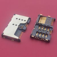 二合一卡座/SIM+Tran Flash Card(TF卡座)/H=2.7mm/外焊8+8PIN