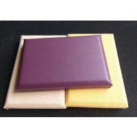 佛山天声生产室内环保吸音材料,KTV防火布艺软包吸音板规格