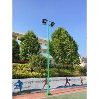 玉林市篮球场照明灯光 北流7.5米照明灯杆采购批发 飞跃体育