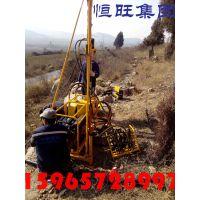 恒旺供应泸州市赤水市物探地震波山地钻机 全液压孔径75石油钻机 轻便浅孔钻机