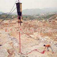 甘肃陇南修高速铁矿开采砌块成型机、