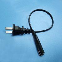 佛山思特传导专业国标插头电源线2*0.5方两芯插头电源线排插电源线定做