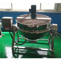 电加热导热油夹层锅 食品机械夹层锅 佳美火锅底料炒锅
