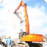 山东徐工210石头粉碎机20吨挖机 建筑工地矿山挖斗 道路修路工程