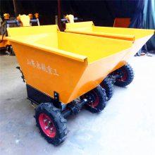 广西广州电动小型手推车 翻斗车 物料运输车  电动仓储搬运平板车