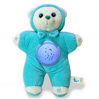 创意玩具星空投影声光安抚兔子婴幼儿童玩具短毛绒制作