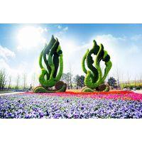 立体花坛制作 城市绿雕 五色草造型 优质五色草种植基地