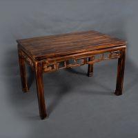 现代中式餐厅烤吧烤肉店餐桌椅,松木实木餐桌,八仙桌长条桌订做