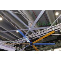 车间降温设备瑞泰风7.3米大型工业风扇凉爽舒适、空气新鲜