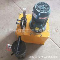 永航钢筋冷挤压机视频 建筑工程配置80mp链接套筒冷挤压机