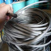不锈钢钢丝绳 多股钢丝 钢丝绳批发 厂家出售
