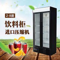 江苏苏州立式展示冰柜多少钱一台?单门冷藏饮料柜