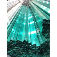 佛山钢厂直销304L不锈钢窗框专用凹槽管、304不锈钢装饰窗帘框专用管材