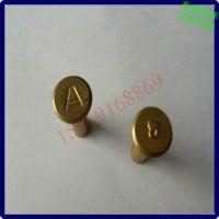 顺德大良铆钉厂 平头圆柱铜铆钉打字 AB型铜铆钉1.6234567891012