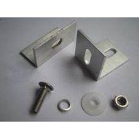 南京铝材厂供应 工业铝型材配件 直角连接件 铝型材连接 角铝铝型材