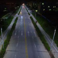 清远整体镀锌管LED灯杆 景观灯安装方法 54W道路灯电线几平米