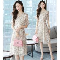 广州便宜杂款连衣裙批发时尚韩版女士裙子尾货批发工厂低价清仓女装连衣裙