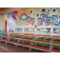 厂家直销三层四层学校儿童铝合金折叠合唱台移动合唱台阶合影台