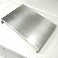 厨房天然气电磁炉灶盖板304不锈钢盖板置物架